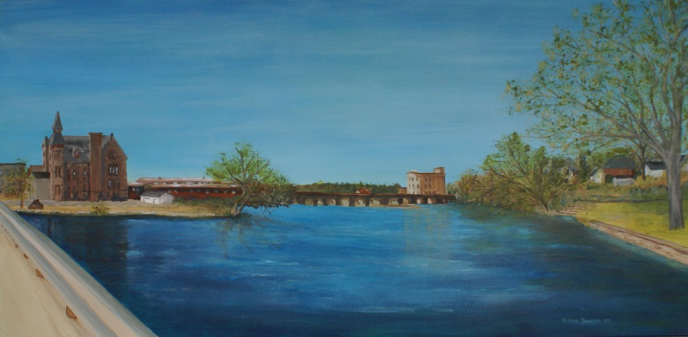 "Almonte's Mississippi 24x48"" Acrylic © 2006 Diane Duncan"