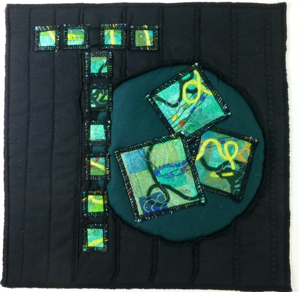 Journal Quilt - T is for Travel, Time, Turmoil