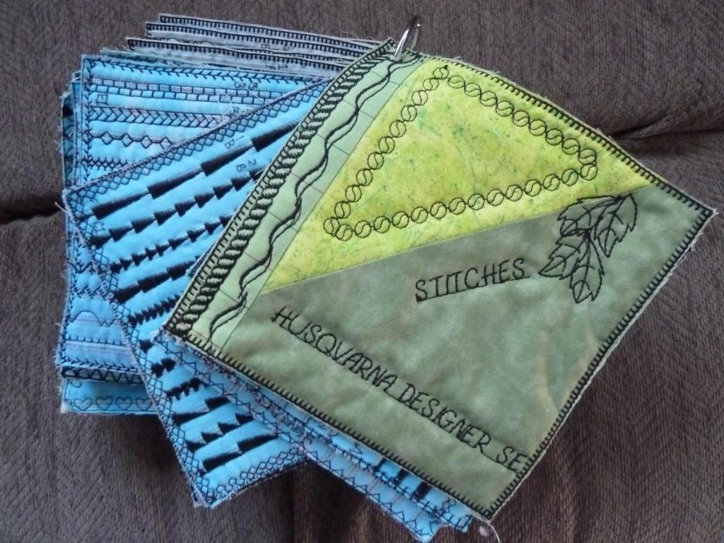 Documenting Husquavarna Machine Stitches