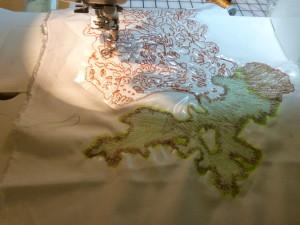 Thread Painting Feature Lichen