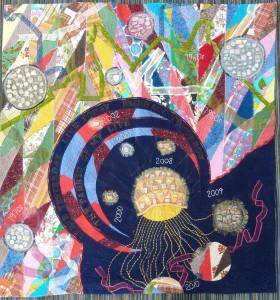 Memory Quilt Fabric Art