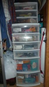 Mobile Studio - Storage