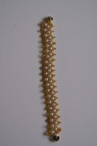 Netted Bead Bracelet