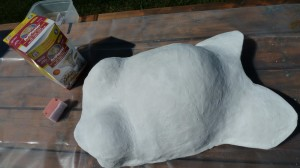 Final Smoothing of Body Casting