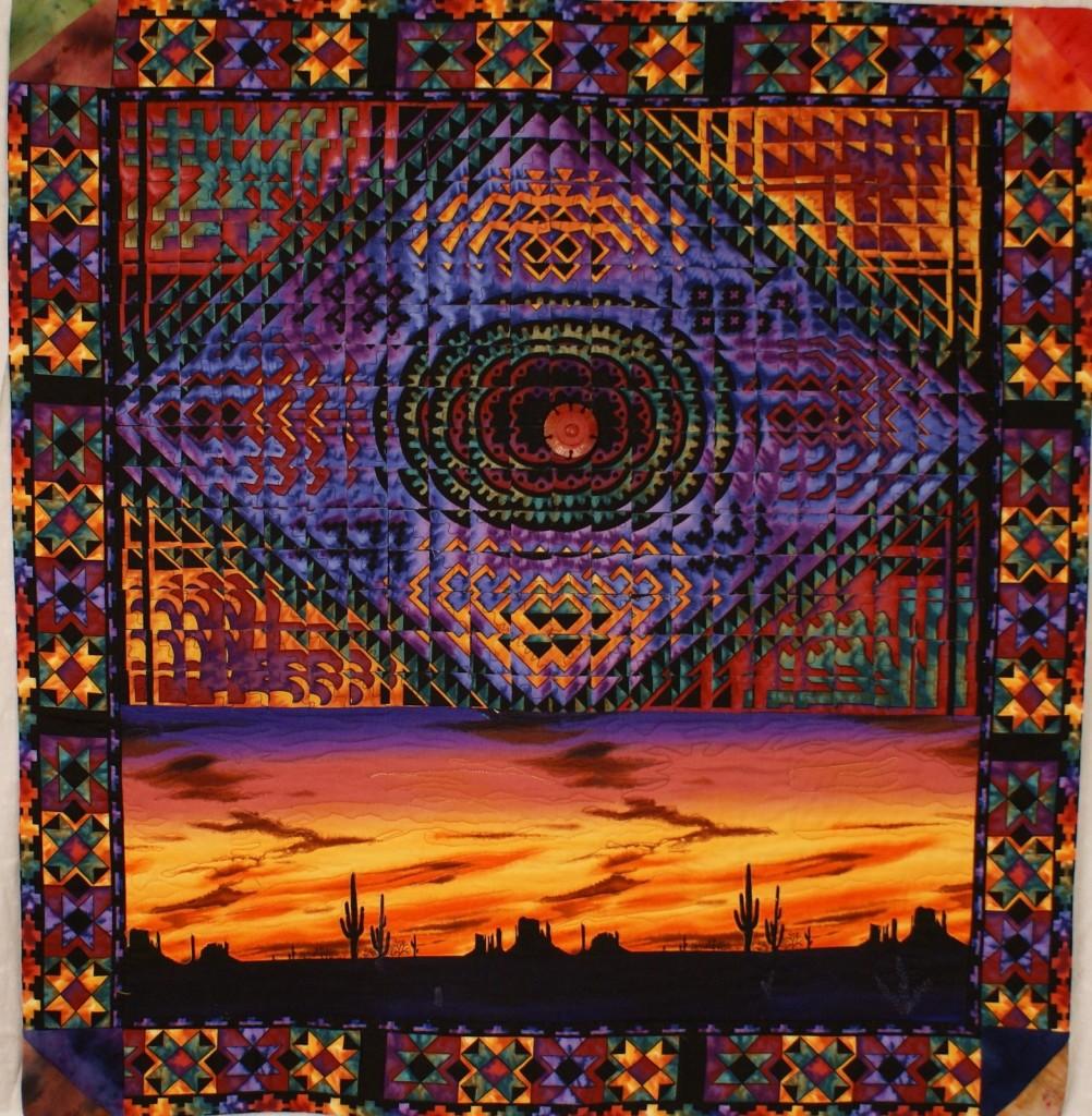 Arizona Sunset  I - Fractures Technique