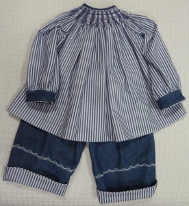 First Smocking Project
