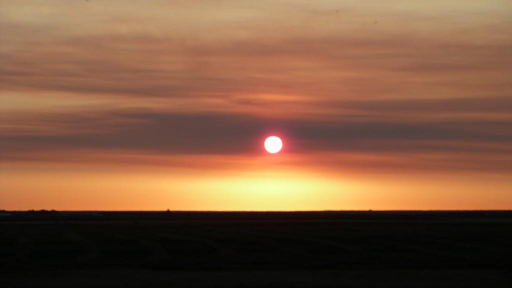 Sunrise in Southern Alberta
