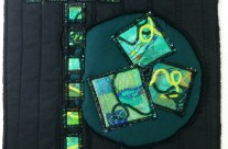 Journal Quilt – T is for Travel, Time, Turmoil