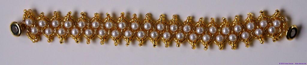 Bead Bracelet 4 - Netted Beads