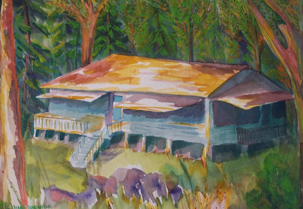 Cottage on Lake Scootamatta