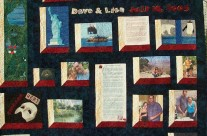 Memory Quilt for Dave and Lisa's Wedding
