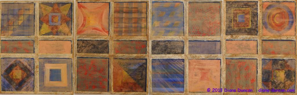 Albuquerque Tiles © 2012 Diane Duncan