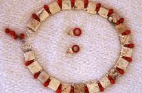 Bone/Horn Bead Necklace 1