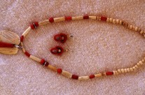 Bone/Bead Necklace 4