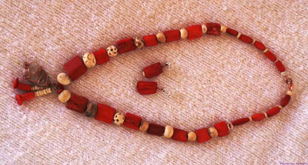 Bone/Bead Necklace 5