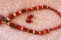 Bone/Horn Bead Necklace 5