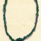Beaded Cabochon Necklace 1