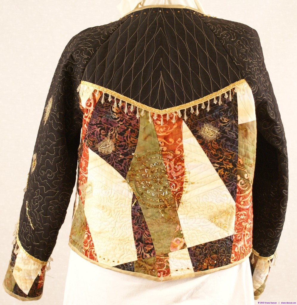 Quilted Jacket - Back