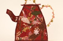 3-D Fabric Sculpture – Teapot