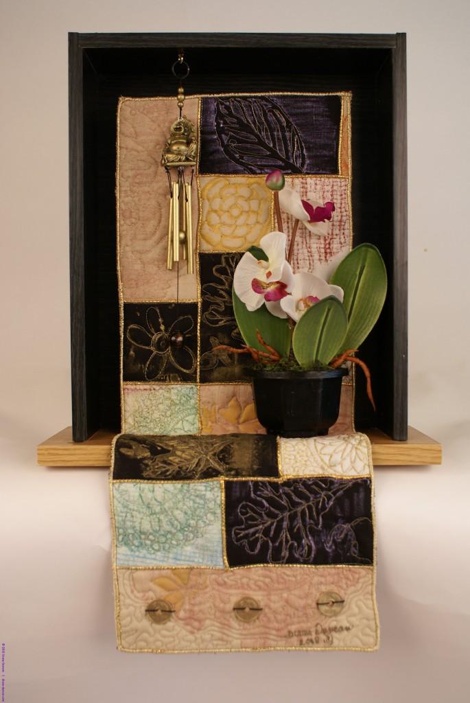 Serenity - Quilt Art Assemblage