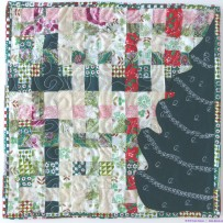 Journal Quilt – D is for December