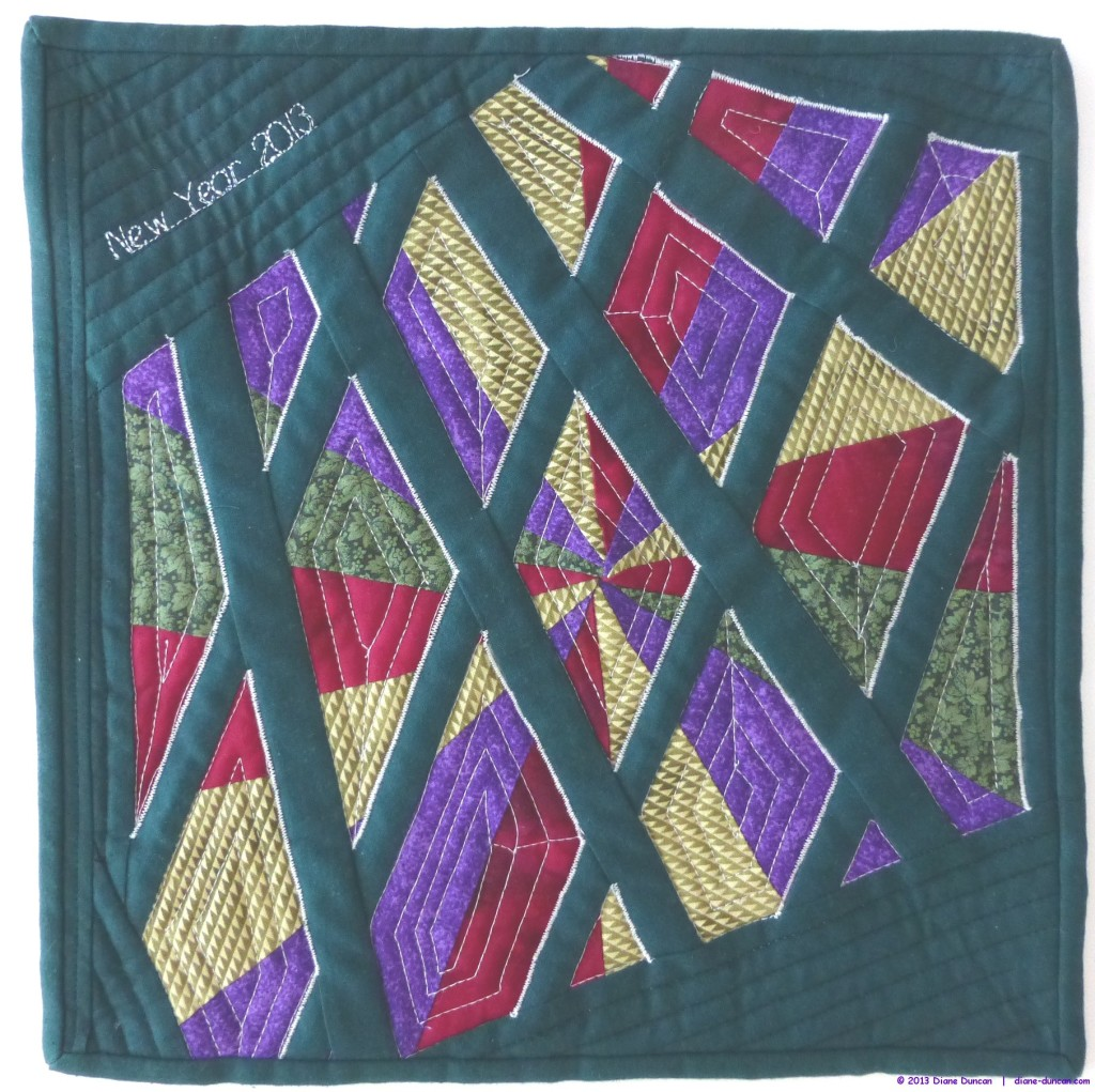 Fibre Art Journal Quilt