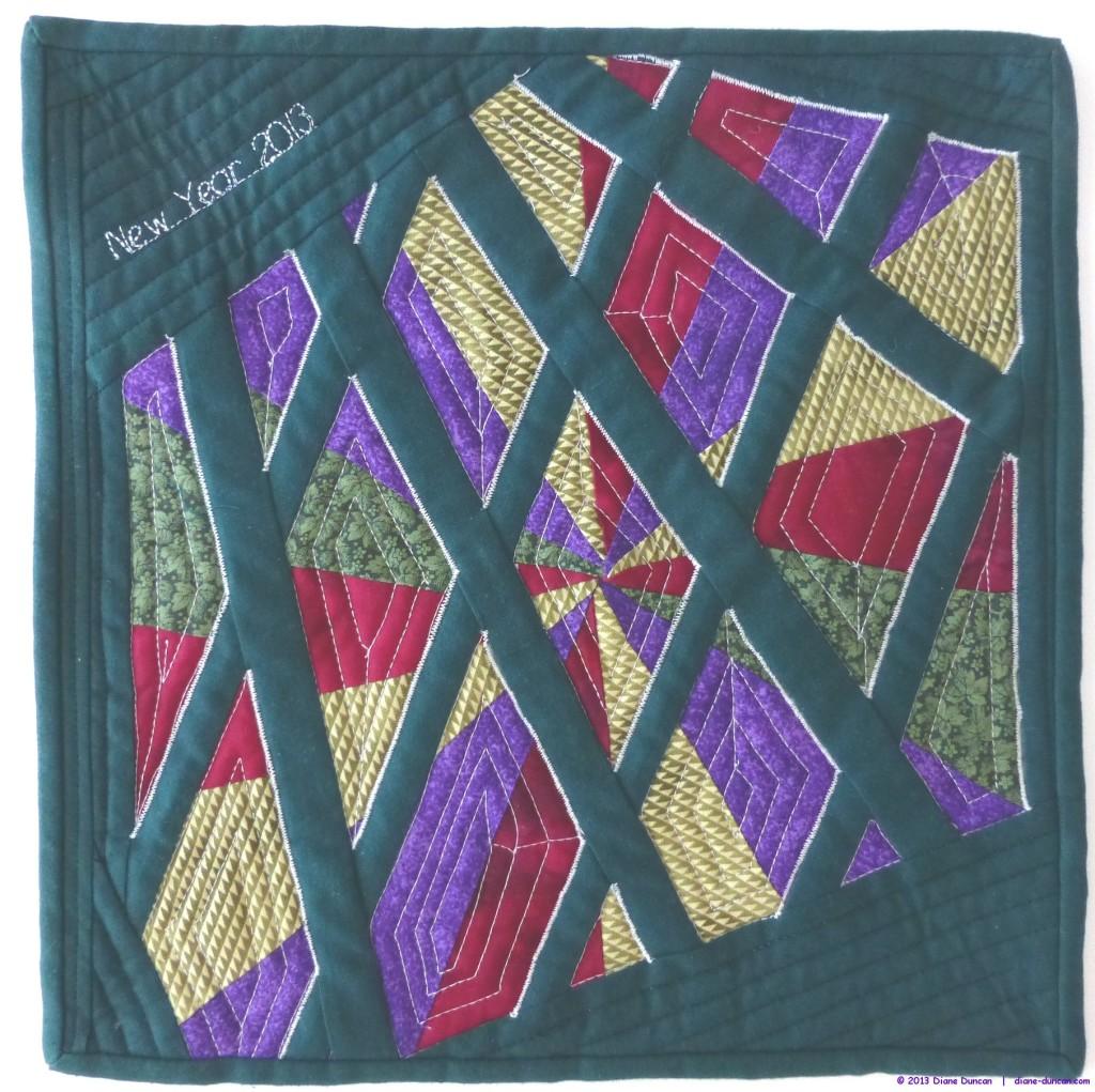 Fibre Art Journal Quilt