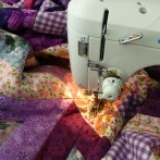 Enough of this Procrastination! Working on a 'Grandma Hug Quilt'
