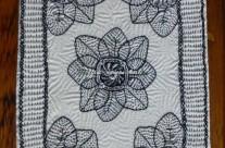 Journal Page – Kantha Stitch in Blackwork