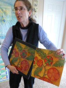 Janet recently had a piece accepted for the SAQA calendar