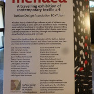 Surface Design Association BC + Yukon Exhibition: Mended