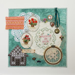Mom Evelyn – Needlework/Assemblage