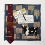 Dad Ernie – Fabric Manipulation/Assemblage