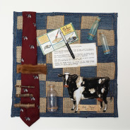 Dad Ernie – Fabric Manipulation/Assemblage