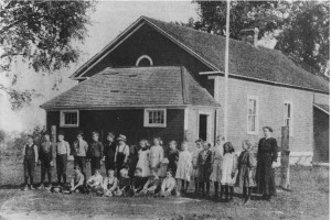 Glen Tay School - SS#3 Bathurst Township, Lanark County, ON