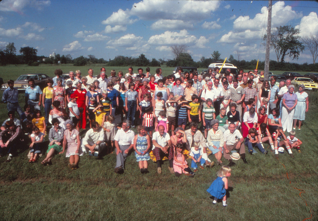 Duncan Family Reunion 1980, Almonte ON