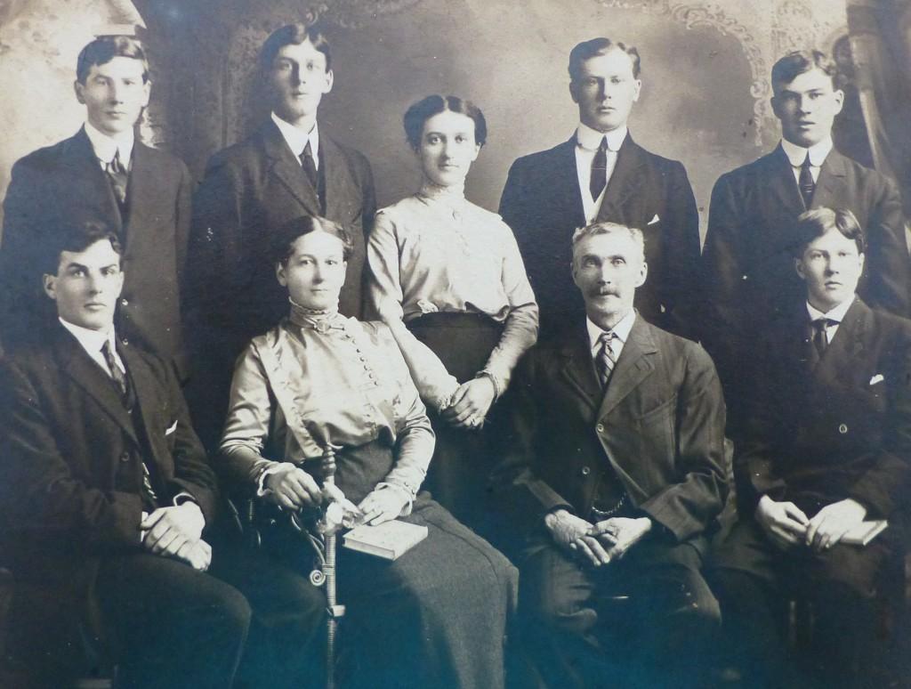 John and Alice Ferrier Family