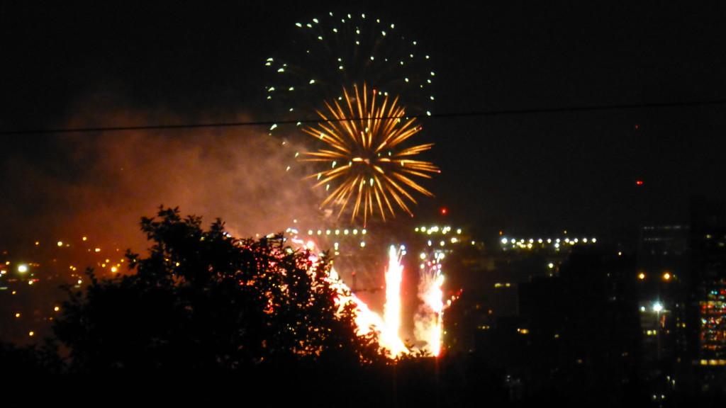 Fireworks Calgary, AB