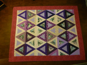 McKenzie's Big Girl Quilt