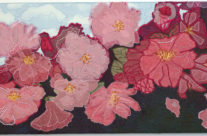 Cherry Blossoms – Fibre Art