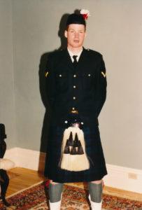 Lanark & Renfrew Dress Uniform
