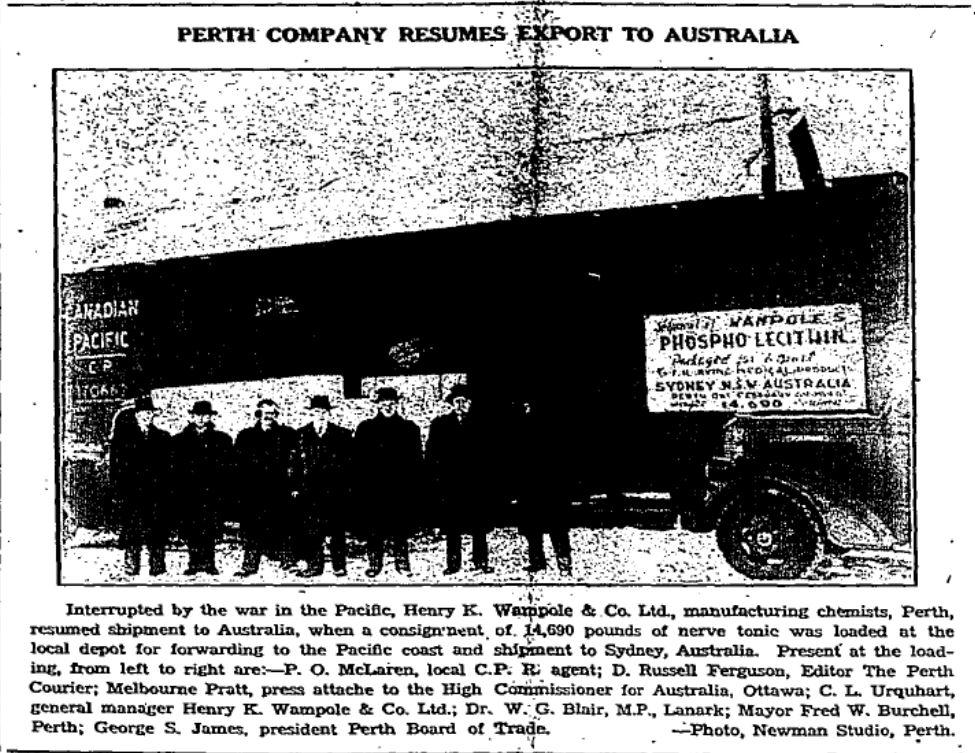 Wompole Company, Perth, Ontario, Canada