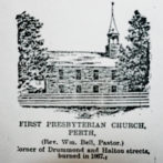 Presbyterian Families of Perth & Area