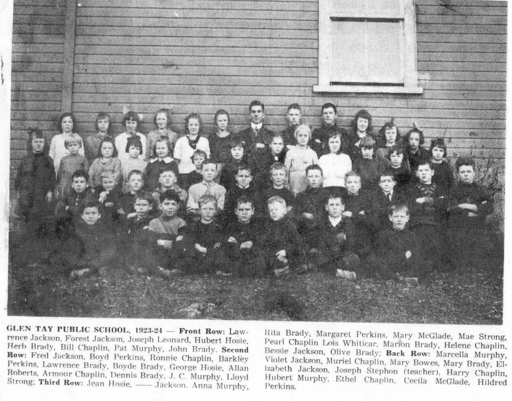 School Picture SS#3 Bathurst, Lanark