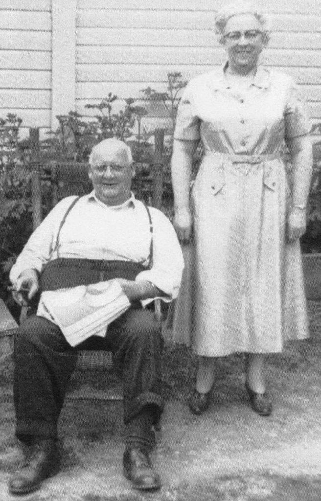 Reb & Olive Chaplin, courtesy of Kenn G. Chaplin