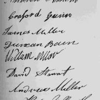 Andrew Miller, Lanark Society Settler